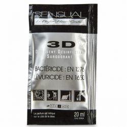 Détergent désinfectant surodorant 3D doses - lot de 250