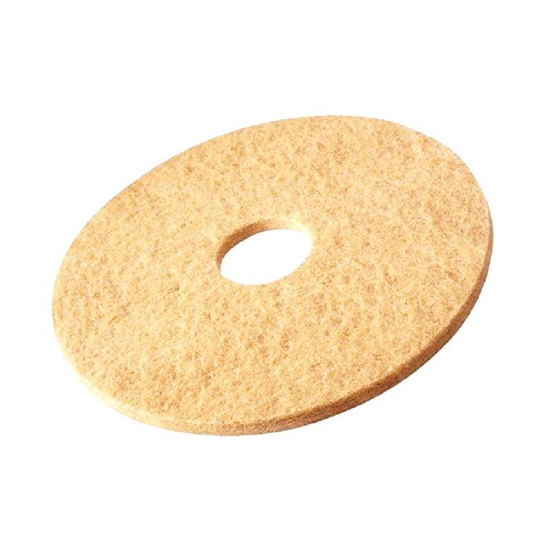 Disques de polissage (beige) Delcourt pour monobrosse