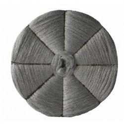 Disque cristallisation en laine d'acier - lot de 5
