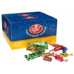 Boîte de biscuits chocolatés