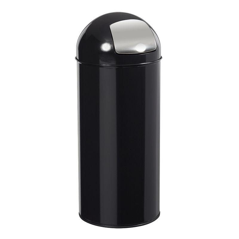 Poubelle Push noire Rossignol - 45 L