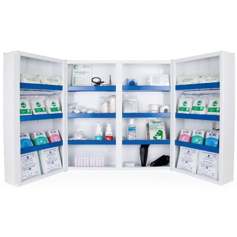 Le kit équipement armoire à pharmacie 2  portes