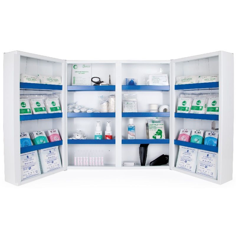 Le kit �quipement armoire � pharmacie 2  portes