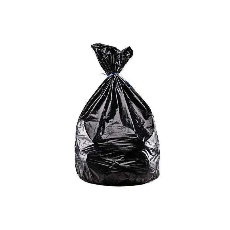 Sacs poubelle noir à usage léger de 110 L