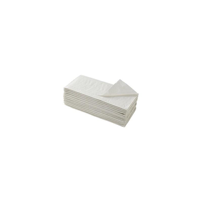 PROMO - Essuie mains en paquet, Gaufré Ecolabel en V, 2 plis, colis de 3920 feuilles