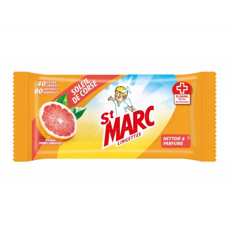 Lingettes St Marc soleil de Corse