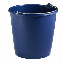 Seau ménage renforcé 10l Bleu