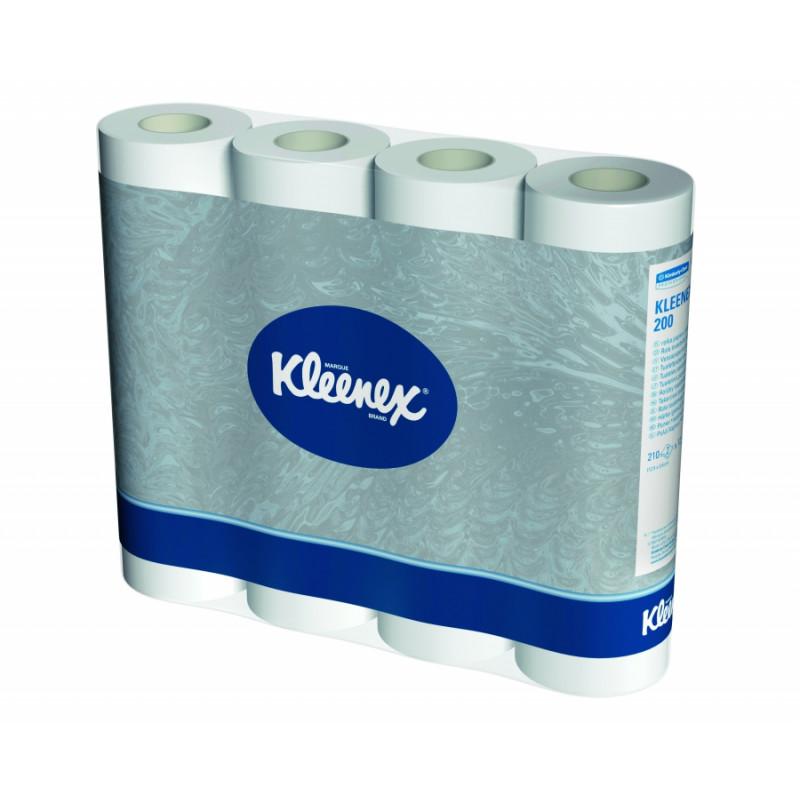 Papier toilette KLEENEX 2 plis, 96 rouleaux
