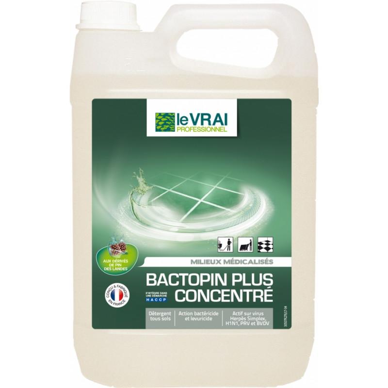 Détergent désinfectant BACTOPIN plus concentré 5 litres