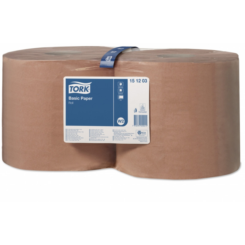 Bobine d'essuyage chamois TORK - 1000 formats