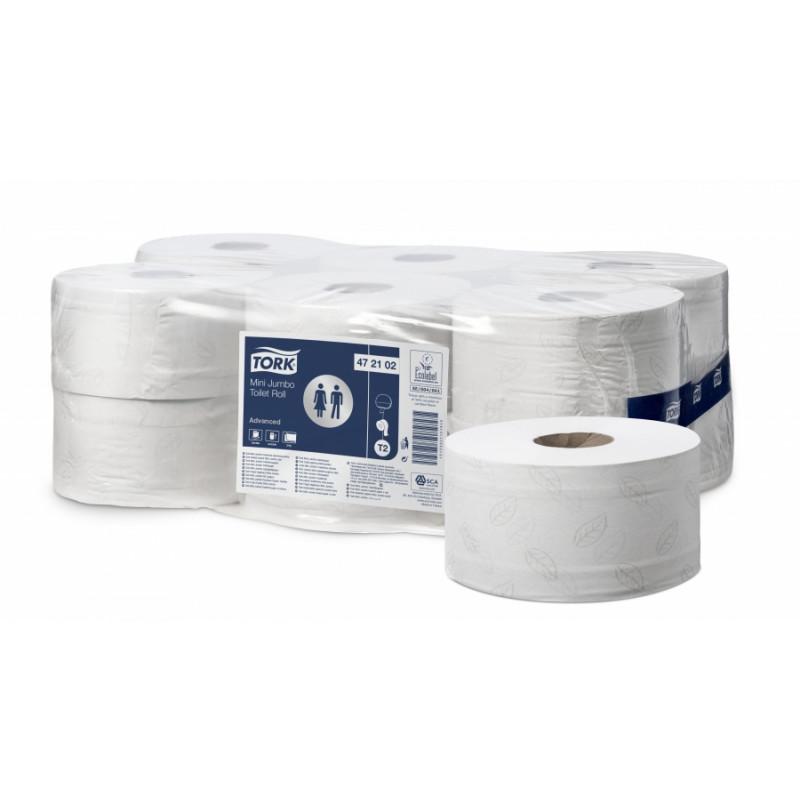 Bobine de papier toilette Lotus (12rlx de 180m)