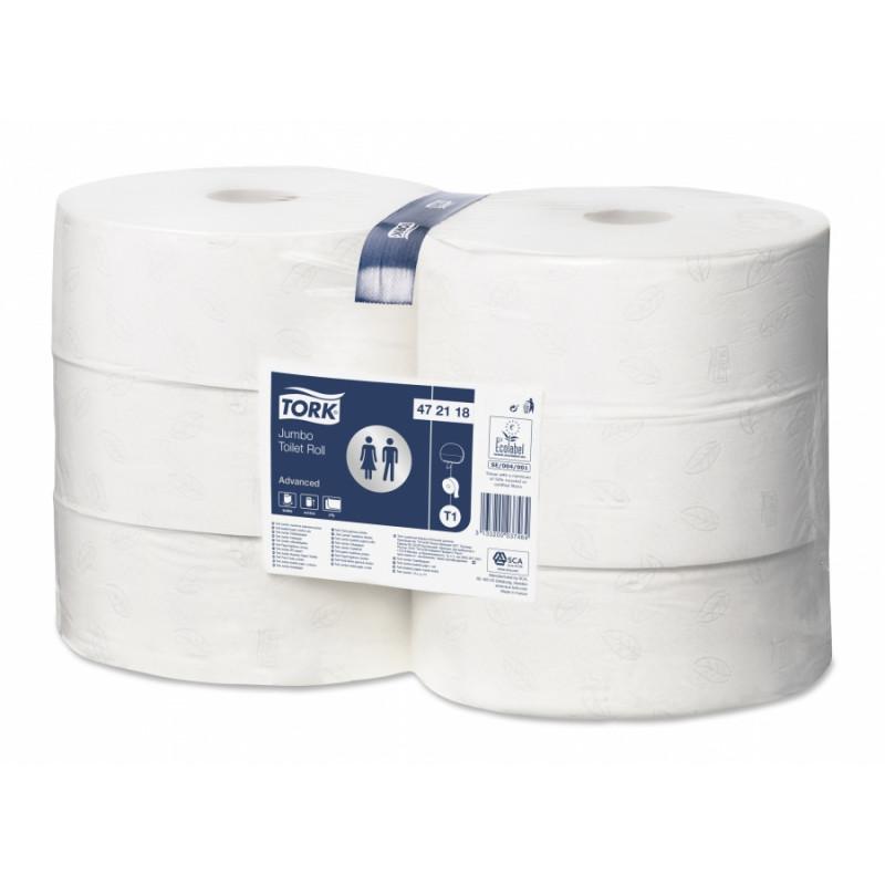 Bobine de papier toilette Lotus (6rlx de 380m)
