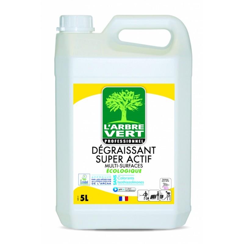 Dégraissant super actif Multi-surfaces écologique 5L L'arbre vert