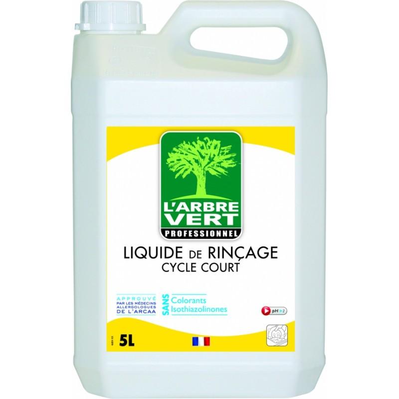 Liquide de rinçage cycle court L'Arbre vert 5L