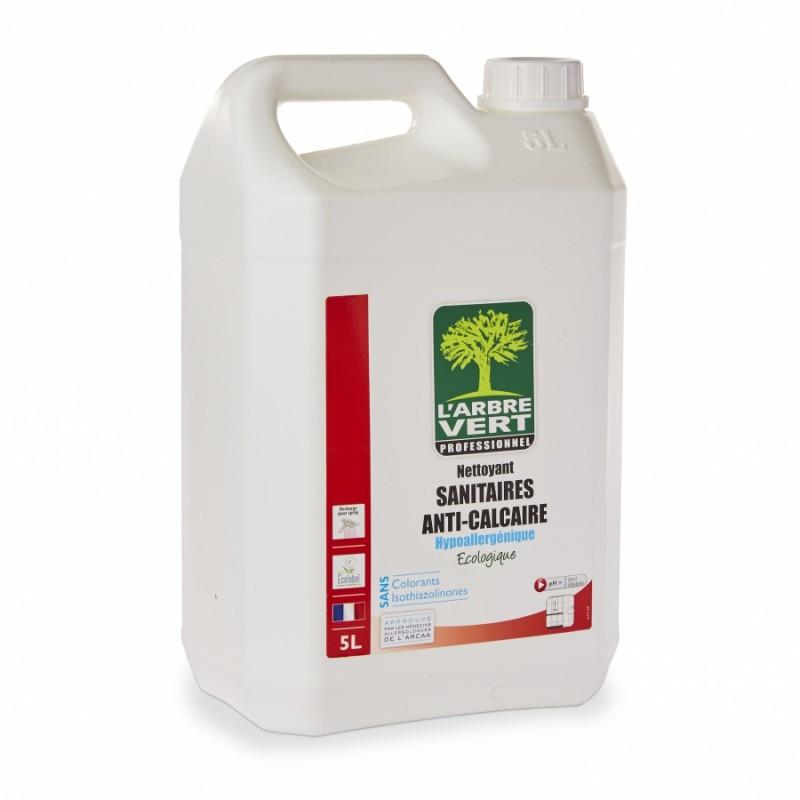 Nettoyant sanitaires anti calcaire écologique L'Arbre Vert 5L