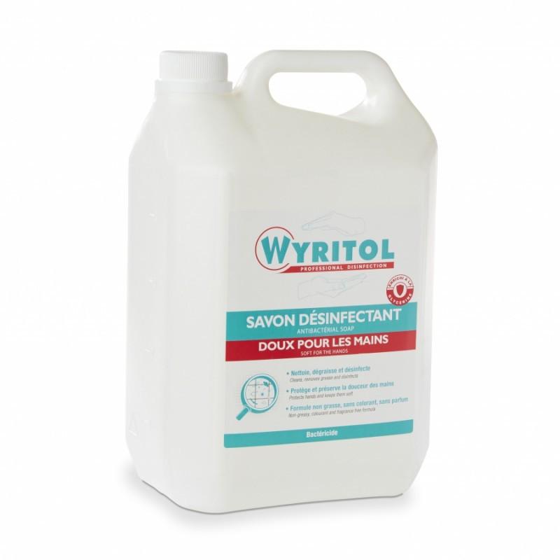 PROMO 2+1 GRATUIT Gel lavant désinfectant bactéricide WYRITOL 5 litres