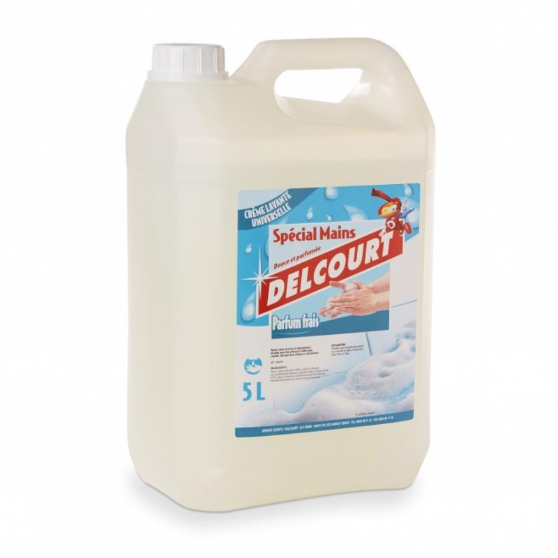 Crème lavante pour les mains DELCOURT - Parfum frais - Bidon de 5L