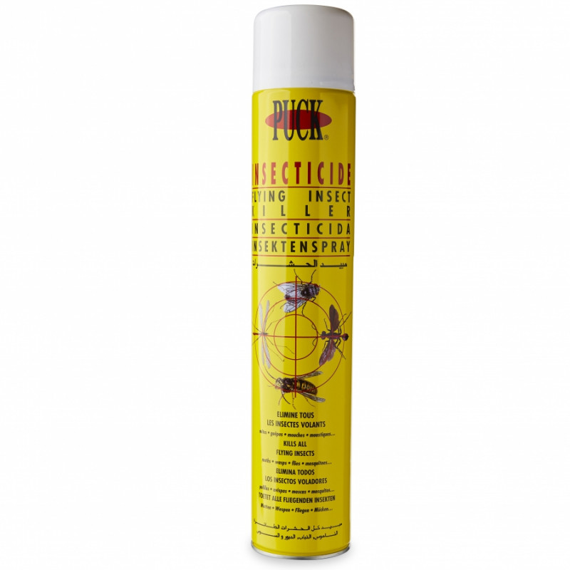 Insecticide volant PUCK, aérosol 750 ml