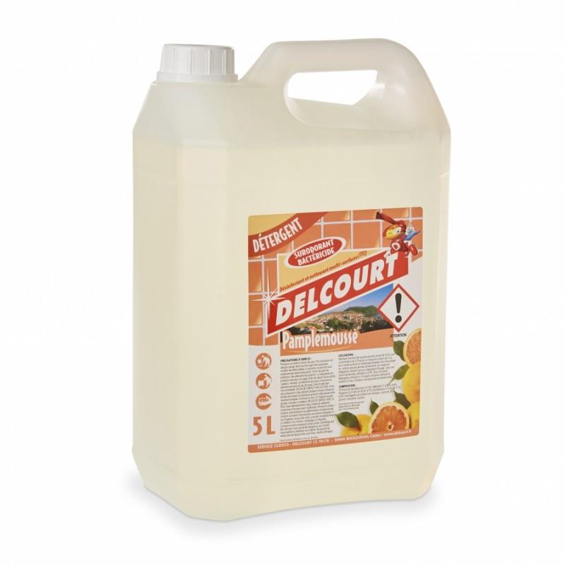 Détergent surodorant bactéricides Pamplemousse- Bidon de 5L