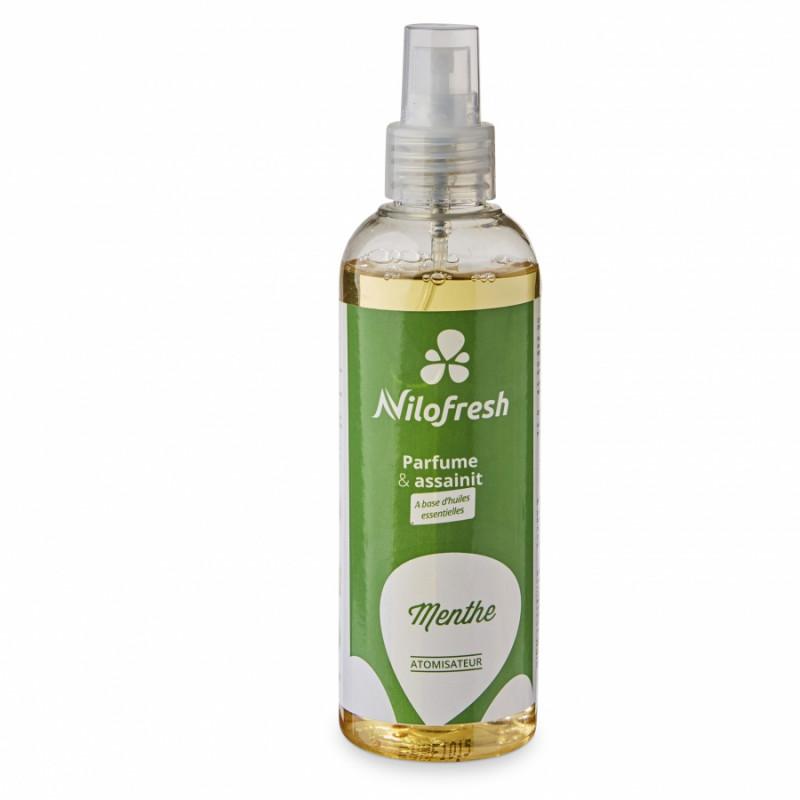 Destructeur d'odeurs Nilofresh pro, parfum menthe