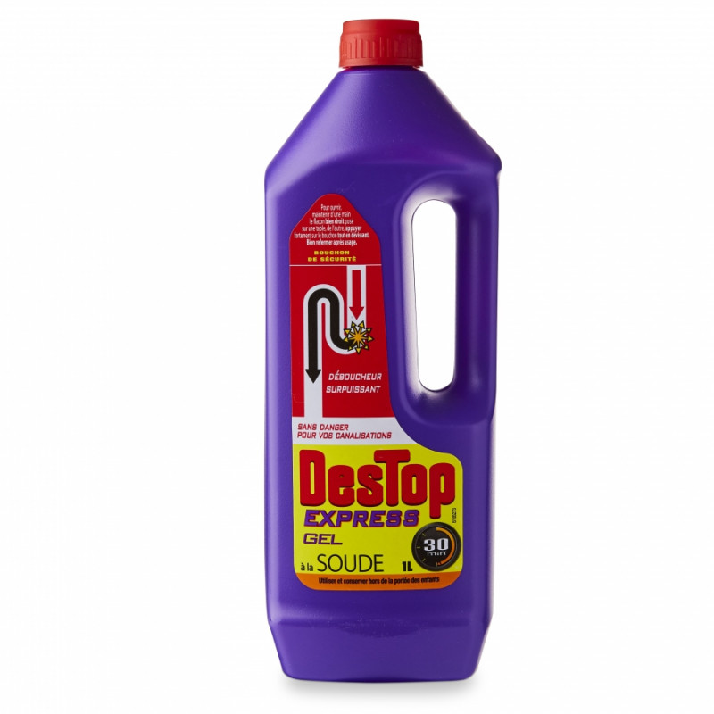 Déboucheur Destop gel express