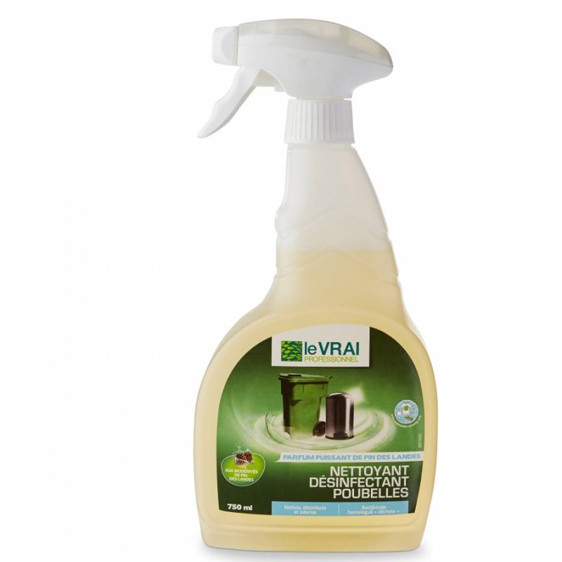 Nettoyant désinfectant poubelles (vapo 750 ml)