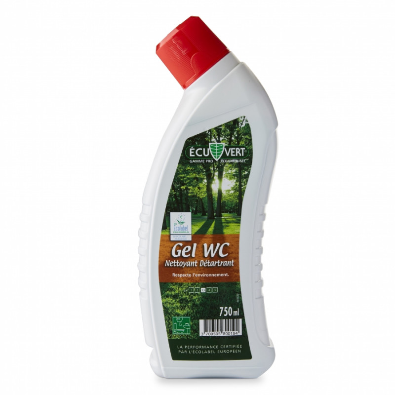 gel WC ECUVERT (par lot de 2)