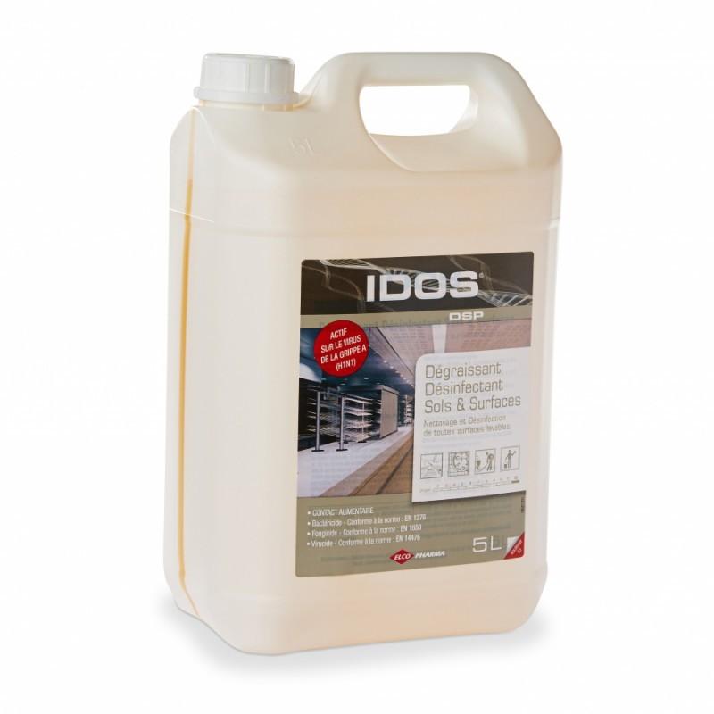 Dégraissant déinfectant IDOS, bidon de 5 L