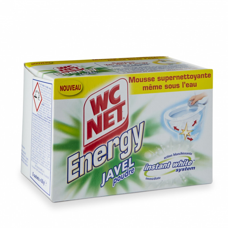 WC net energy javel (bo�te de 6 sachets)