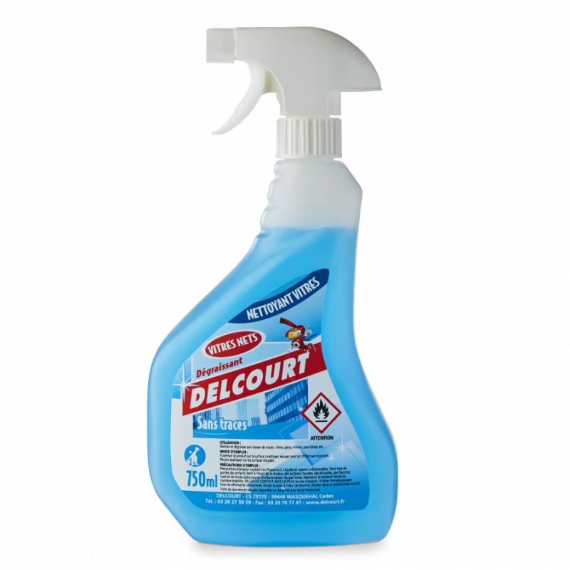 Produit nettoyant vitres DELCOURT pro