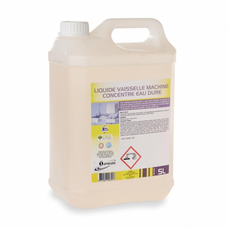 Liquide vaisselle concentré, spécial eau dur 5L