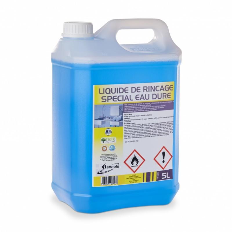 Liquide rincage spécial eau dure 5L