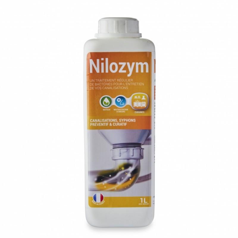 Nettoyant préventif canalisations et siphons NILOZYM 1 litre