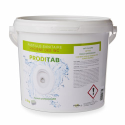 Tablettes actives PRODITAB WC