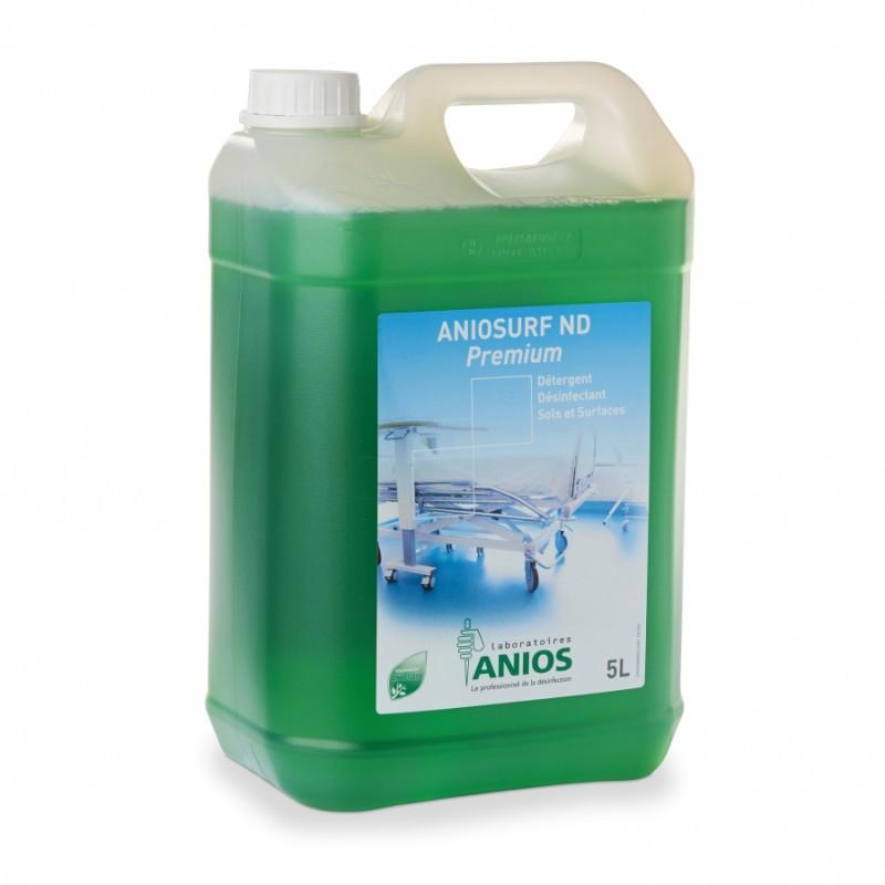 Nettoyant désinfectant ANIOSURF ND PREMIUM 5L
