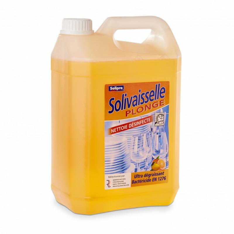 Liquide vaisselle Solivaisselle 5L désinfectant