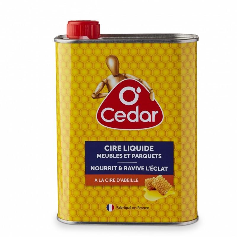 Cire liquide O'cedar pour meubles et parquets 750ml