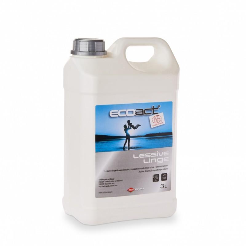 Lessive liquide écologique ecoact 3L