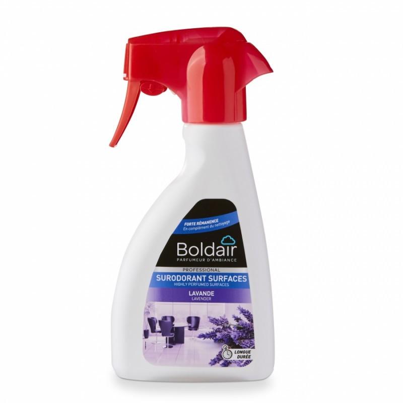 Désodorisant surodorant BOLDAIR 250 ml, parfum Lavande