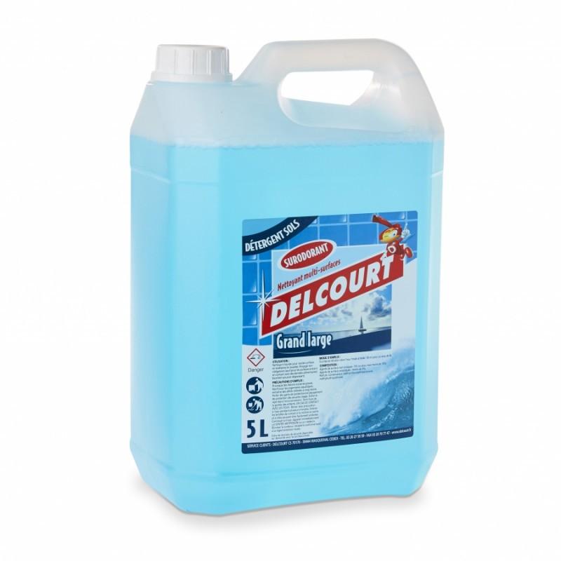 Détergent surodorant Grand large - Bidon de 5 litres