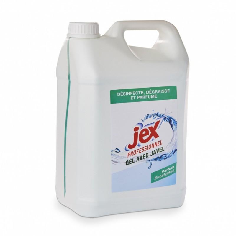 jex gel nettoyant javellisé 5L