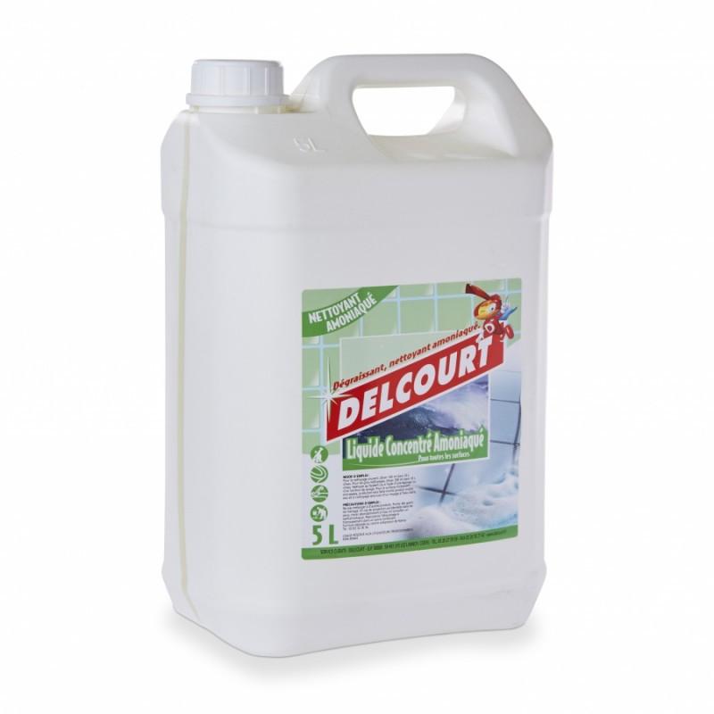 Détergent ammoniaqué concentré DELCOURT 5 litres