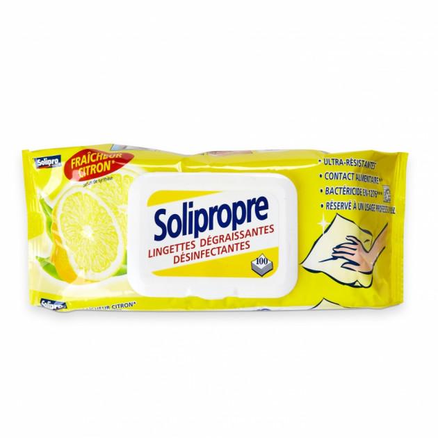 Lingettes SOLIPROPRE