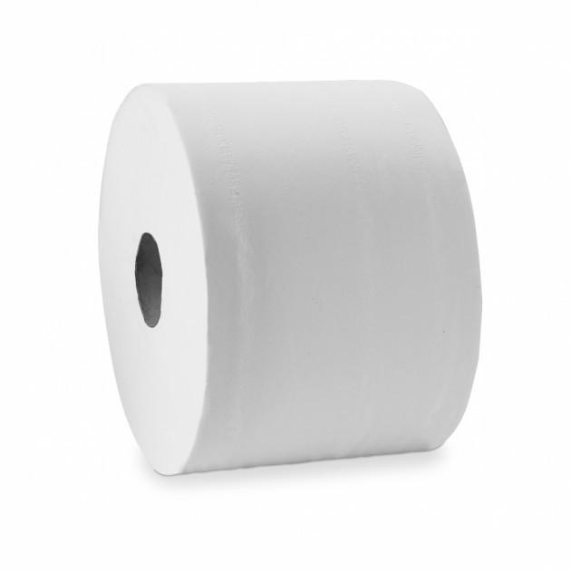 Papier toilette blanc compact DELCOURT 30rlx