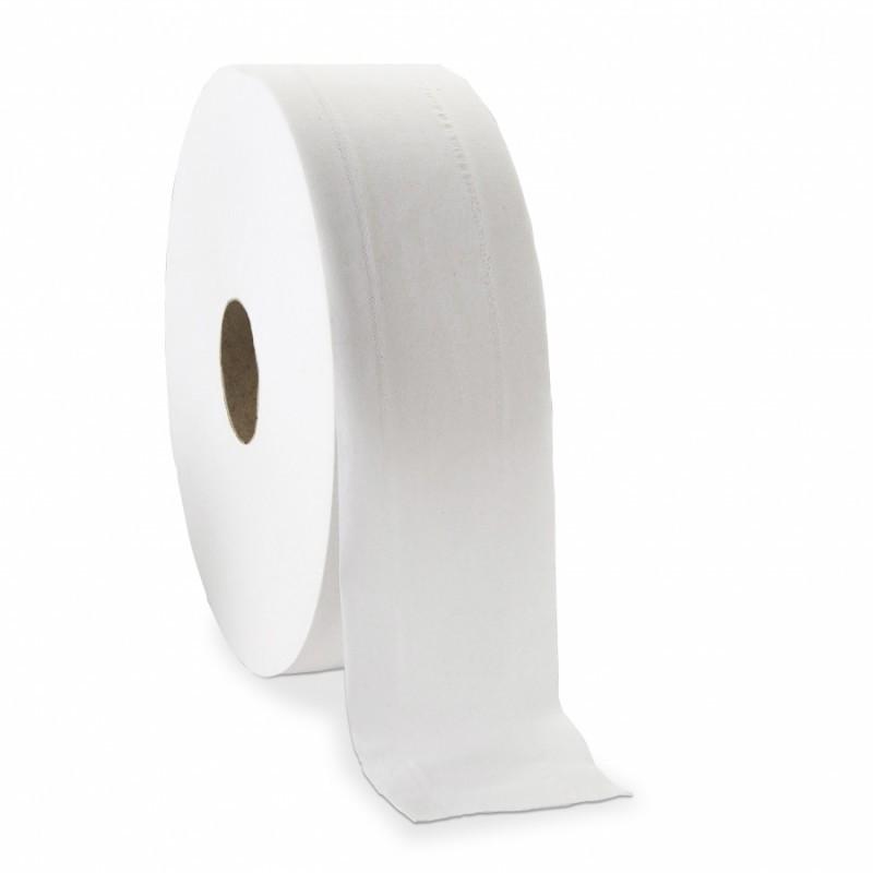 6 bobines de papier toilette blanc 380 M DELCOURT
