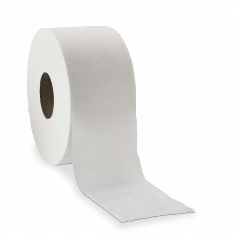 Bobine de papier toilette Delcourt (12 rlx de 175m)