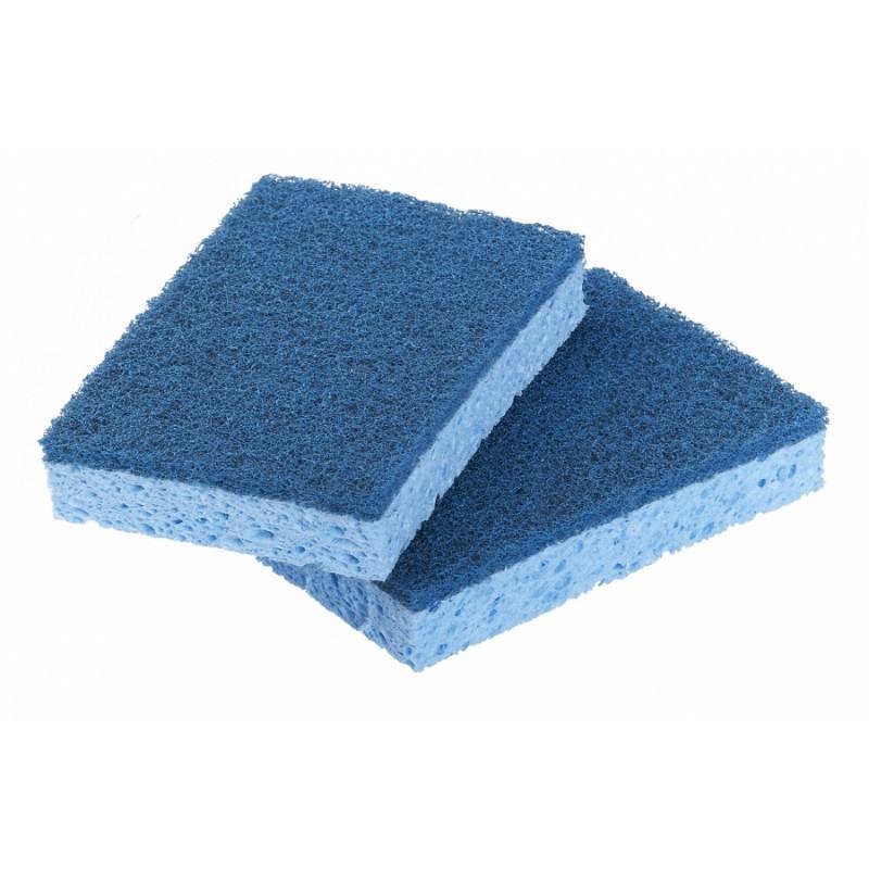 Tamponges bleues 3M, par 10