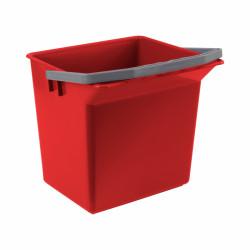 Seau rouge 6L