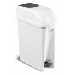 Poubelle blanche sanitaire 17L