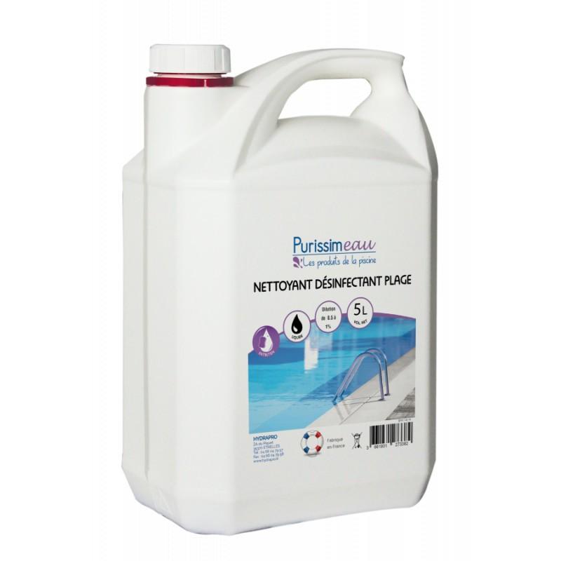 PROMO - Nettoyant désinfectant plage, 5L